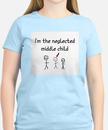 I'm the neglected middle child Women's Light T-Shi