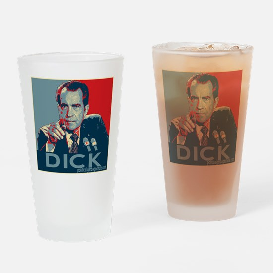 "Nixon - ""DICK"" Drinking Glass"