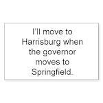 Save Springfield Traffic Sticker (Rectangle 10 pk)