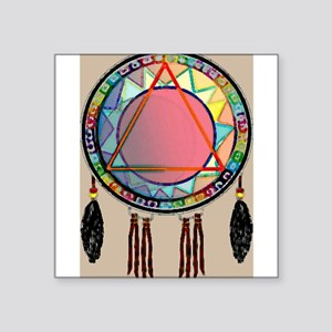 "AllONEtribe Square Sticker 3"" x 3"""
