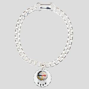 4directSHIELDtwo Charm Bracelet, One Charm