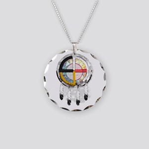 4directSHIELDtwo Necklace Circle Charm