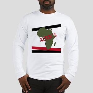Militant Africa Long Sleeve T-Shirt