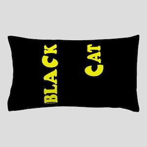 Black Cat (yellow) Pillow Case