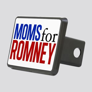 Moms for Romney Rectangular Hitch Cover