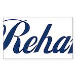 Rehan Sticker (Rectangle 50 pk)