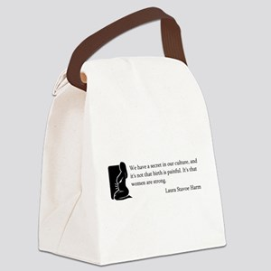 BirthStrongSilo Canvas Lunch Bag