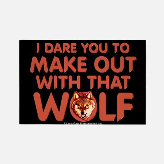 I Dare You Wolf Make-out Magnet