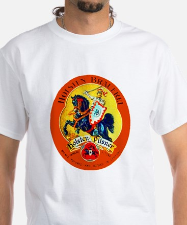 Germany Beer Label 15 White T-Shirt