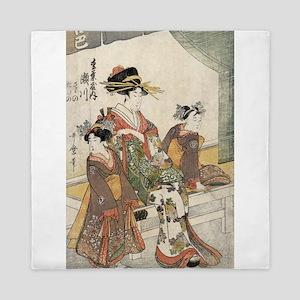 The Courtesan Segawa of Matsuba-ya - Utamaro Kitag