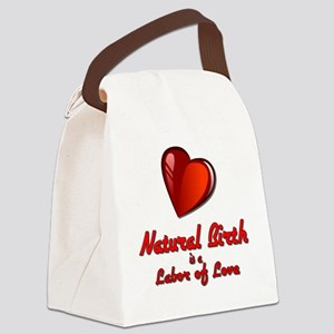Labor of Love Canvas Lunch Bag