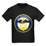 USS MACDONOUGH Kids Dark T-Shirt