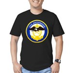 USS MACDONOUGH Men's Fitted T-Shirt (dark)