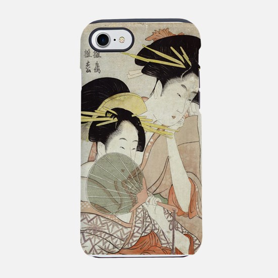 The courtesans Hinatsuru and Hinamatsu of Choji-ya