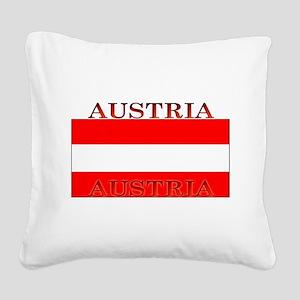 Austria Square Canvas Pillow