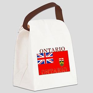 Ontario Canvas Lunch Bag