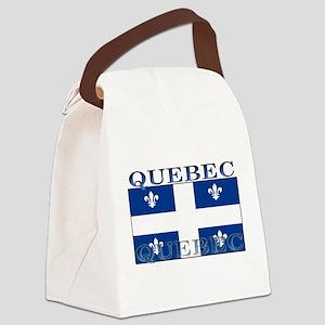 Quebecblack Canvas Lunch Bag