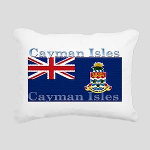 CaymanIsles Rectangular Canvas Pillow