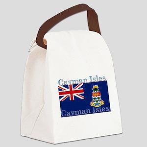 CaymanIsles Canvas Lunch Bag