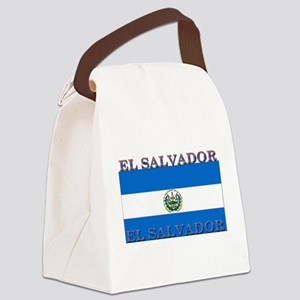 ElSalvador Canvas Lunch Bag