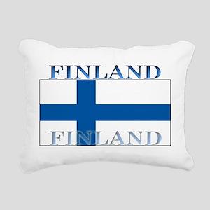 Finland Rectangular Canvas Pillow