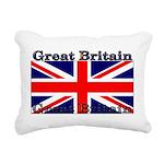 GreatBritain Rectangular Canvas Pillow