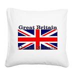 GreatBritain Square Canvas Pillow