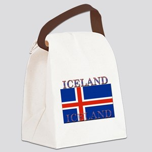 Iceland Canvas Lunch Bag