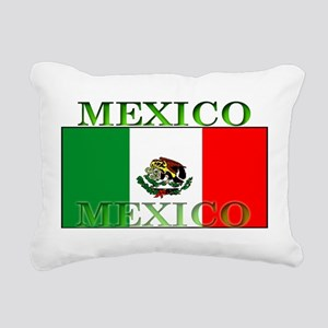 Mexicoblack Rectangular Canvas Pillow