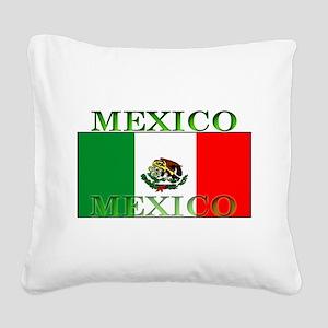 Mexicoblack Square Canvas Pillow