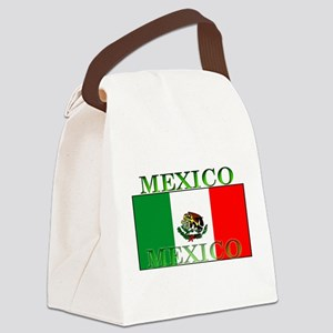 Mexicoblack Canvas Lunch Bag
