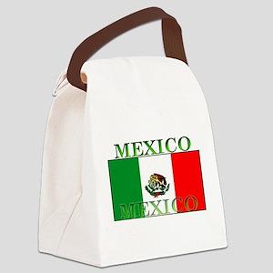 Mexicoblack Canvas Lunch Bag