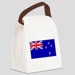 NewZealandblackblank Canvas Lunch Bag