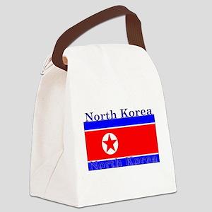 NorthKorea Canvas Lunch Bag