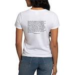 """Bible on a Plane"" Women's T-Shirt"