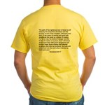"""Bible on a Plane"" Yellow T-Shirt"