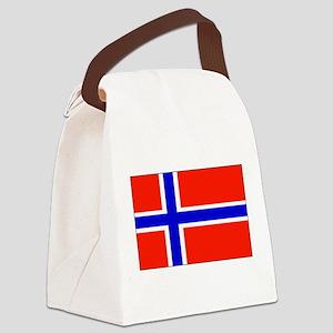 Norwayblank Canvas Lunch Bag