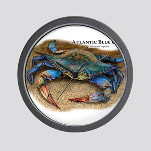Atlantic Blue Crab Wall Clock