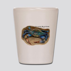 Atlantic Blue Crab Shot Glass