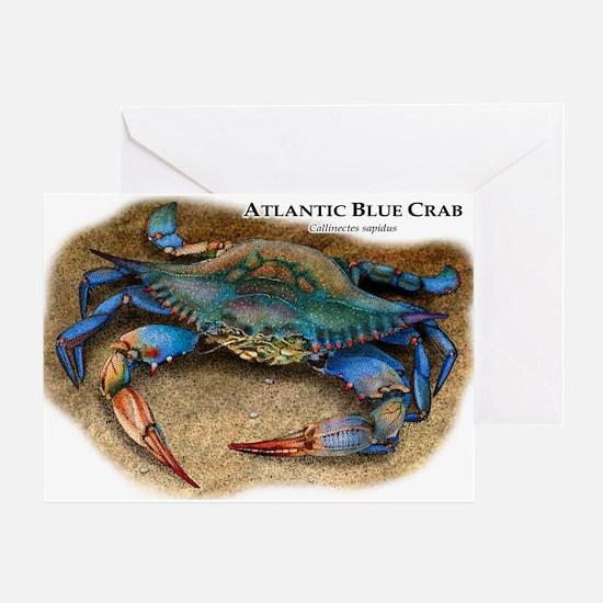 Atlantic Blue Crab Greeting Card