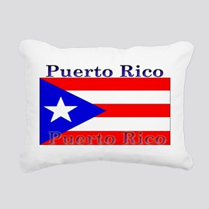 PurtoRico Rectangular Canvas Pillow