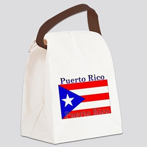 PurtoRico Canvas Lunch Bag