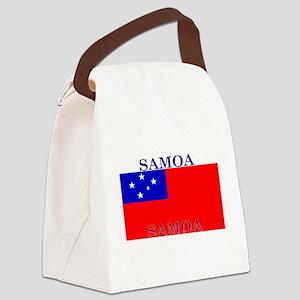 Samoablack Canvas Lunch Bag