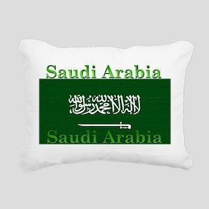 SaudiArabia Rectangular Canvas Pillow