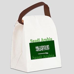 SaudiArabia Canvas Lunch Bag