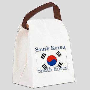 SouthKorea Canvas Lunch Bag