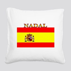 Nadal Square Canvas Pillow
