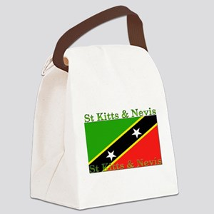 StKittsNevis Canvas Lunch Bag