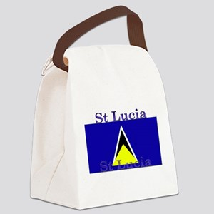 StLucia Canvas Lunch Bag