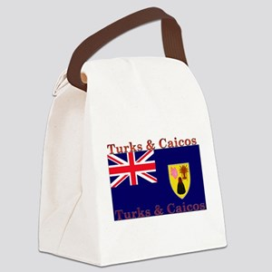 TurksCaicos Canvas Lunch Bag